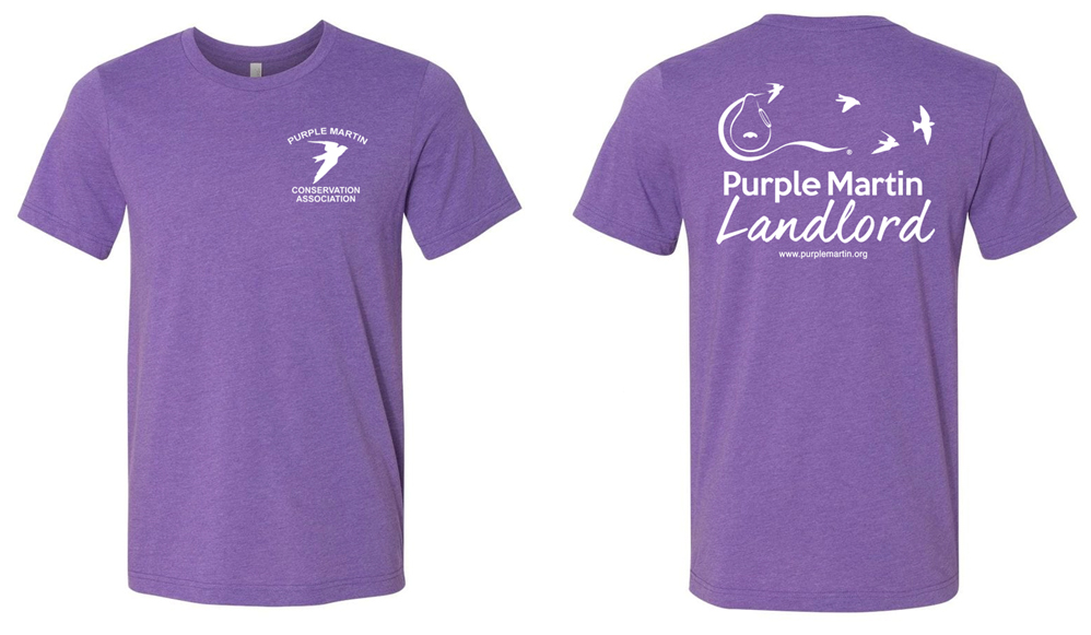 Purple Martin Landlord T-shirt
