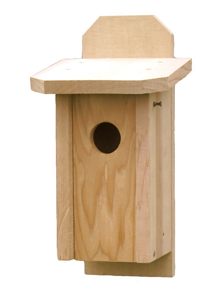Bluebird Box solid cedar