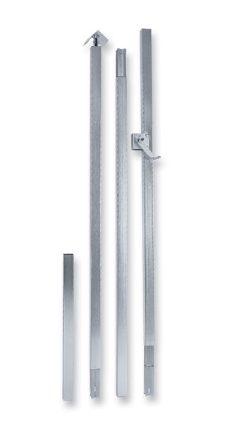 "Lonestar 2"" Metal Pole 16.5 feet  EXPECT UP TO 3 WEEKS FOR DELIVERY"