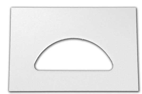 Plastic Crescent Replacement Plate