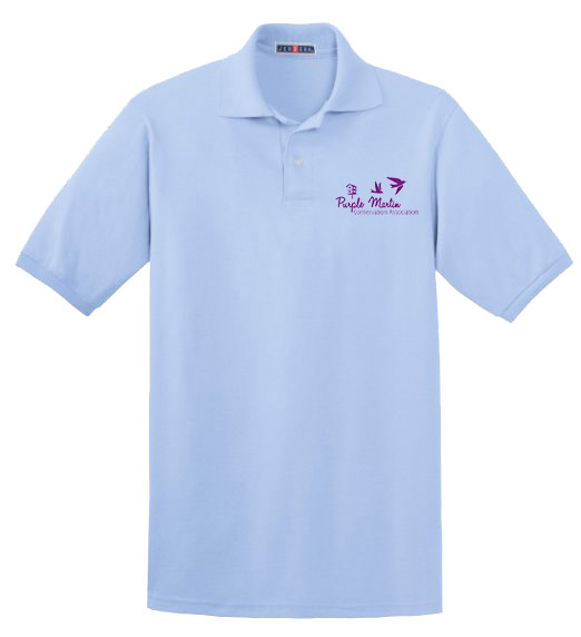 PMCA Blue Polo Shirt