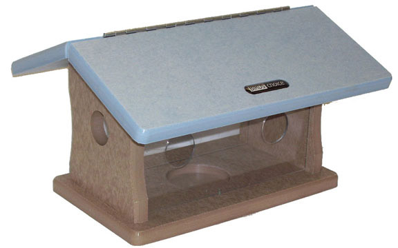 Birds Choice Recycled Bluebird Feeder